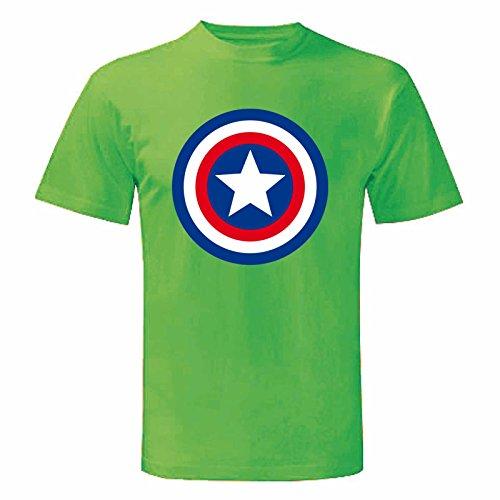Art T-shirt Herren T-Shirt Grün