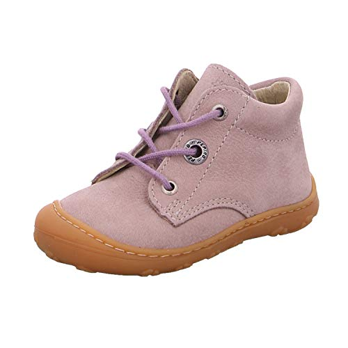 RICOSTA Mädchen Lauflern Schuhe Cory von Pepino, Weite: Mittel (WMS),terracare, Spielen verspielt detailreich Freizeit leger,Viola,24 EU / 7 Child UK