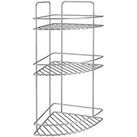 Metaltex Reflex - Rinconera, 3 pisos, 53 x 23 x 23 cm