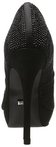 Buffalo Rk 1501-223-a Satin, Escarpins Femme Noir (Black 01)