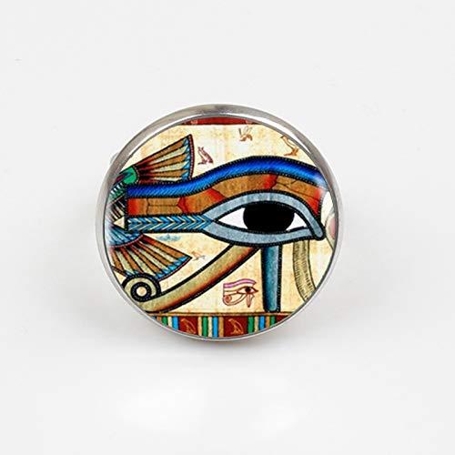 Material: metal, impresión de cristal incluye: 1 collar, 100 % nuevo, de buena calidad, diseño único. Este anillo es el regalo perfecto para todo el mundo en tu vida, se puede llevar en cualquier ocasión y te hace un regalo llamativo para el día del ...