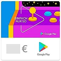 Google Play-Gutscheincode – Spiele, Apps und andere Inhalte verschenken (Versand per E-Mail – Code kann nur in Deutschland eingelöst werden, Code ist nicht in Österreich verfügbar)