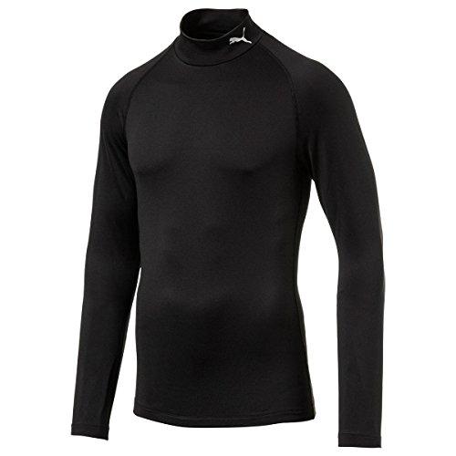 Puma Golf Herren Baselayer Männer Langarm Shirt Pullover schwarz Größe XL (Golf Langarm-pullover)