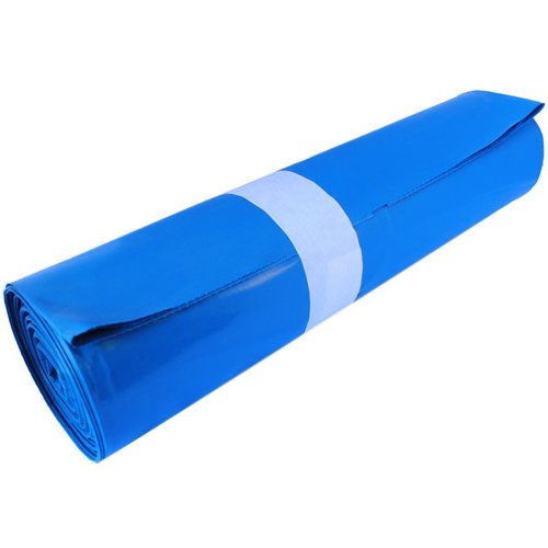 Wow NEU 240L Sacchi blu sacchetto per rifiuti spazzatura 60My LDPE Sacchi, Plastica, Blau, 60X
