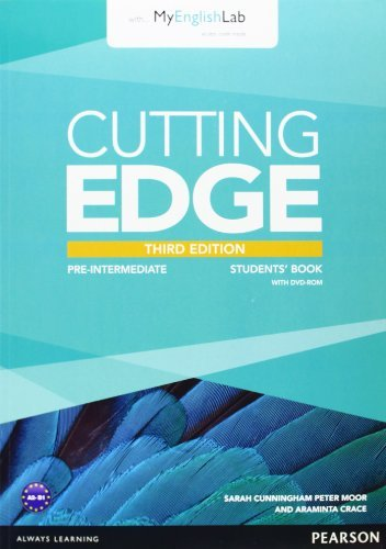 Cutting Edge Pre-Intermediate Students' Book with DVD and MyEnglishLab Pack by Peter Moor (February 27,2014)
