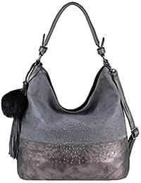 eda56a85ac850 OBC Damen Tasche Shopper Hobo-Bag Henkeltasche Schultertasche Umhängetasche  Handtasche Crossover CrossBag Damentasche…