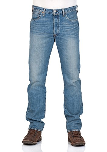 Levi's® Herren Jeans 501® Original Fit - Blau - The Ben, Größe:W 31 L 34;Farbe:The Ben (2333) (Levis Jean Original)