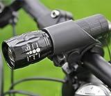 Bicycle Mini Lamp Set 500 Lumen Waterproof Small Frontal Light (2pcs. Cree Q5 LED spotlight, 2 hand wand flashlight holder adjustable flashligh