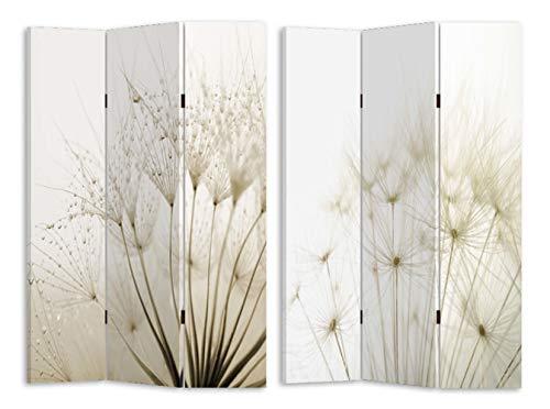 HTI-Line Paravent Pusteblume Sichtschutz Spanische Wand Raumteiler