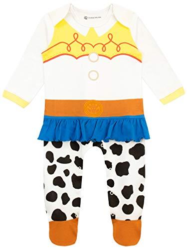 Disney Baby Mädchen Toy Story Schlafstrampler Jessie Mehrfarbig 44-50