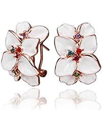 Cristal Autrichien Fait Avec Le Design De Mode Boucles d'Oreilles / Stud / Déposer Pour Les Femmes