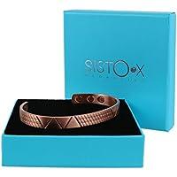 Slim Magnetisch Kupfer dünn Viva Design Armreif/Armband by sisto-x ® GESUNDHEIT Stärke 6Magnete preisvergleich bei billige-tabletten.eu
