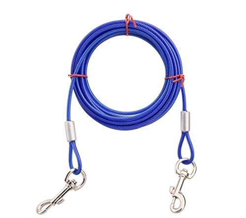 Orchidtent Cuerda de Doble Tracción para Perros Tracción de Dos Cables de...