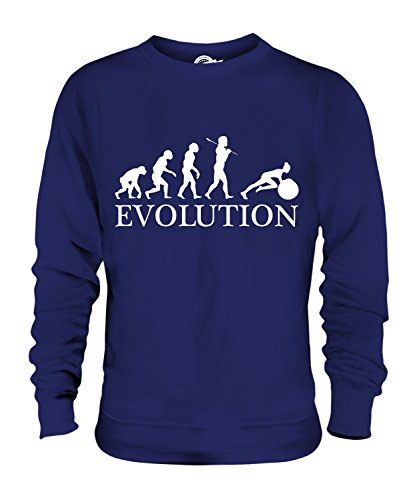 Candymix - Swiss Gym Ball Evolution Of Man - Unisex Sweatshirt Mens Ladies Sweater Jumper Top