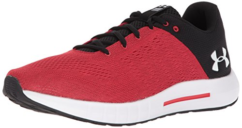 Under Armour UA Micro G Pursuit, Zapatillas de Running para Hombre, Rojo (Pierce), 42 EU