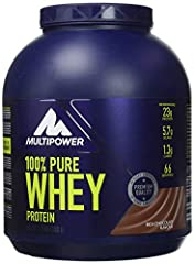 Idea Regalo - 100% pure whey multipower 2kg cioccolato