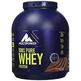 Multipower 100% Pure Whey Protein – Fino a 80% di Proteine del Siero del Latte – Proteine Isolate come Fonte Principale…