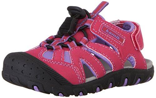 Kamik Oyster, sandales fermées mixte enfant rose (FUCHSIA/FUS)