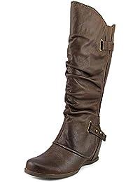 Frauen Dallia Geschlossener Zeh Fashion Stiefel Braun Groesse 6.5 US/37.5 EU BareTraps smRgJuH