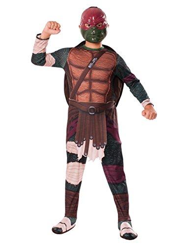 Teenage Mutant Ninja Turtles Kinder Raphael Movie Outfit, klein, 3-4 Jahre), Höhe - 3'4'20.32 cm (Turtle-outfit Kinder Ninja)