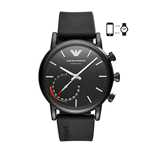 Emporio Armani ART3010 Alberto Connected Smartwatch Herren 43mm 3ATM