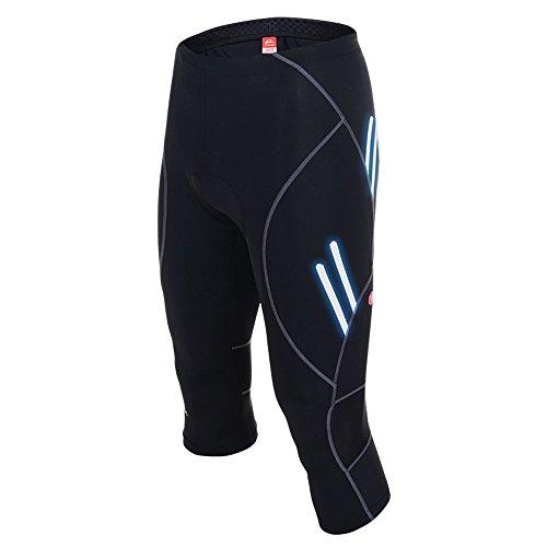 VEOBIKE Herren Thunder Bike Road Gel gepolsterte zugeschnitten Shorts Pants -