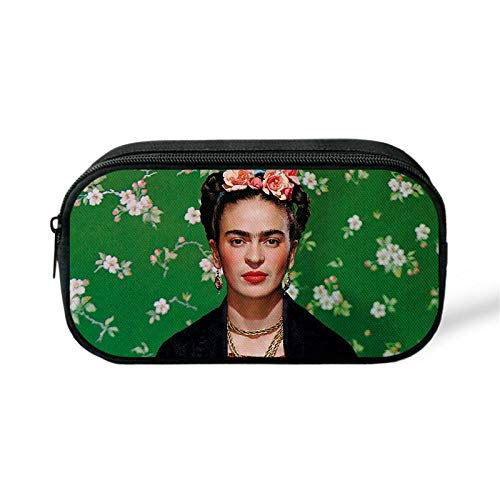 Federmäppchen European And American Male And Female Students Pen Oil Brush Bag Mobile Phone Cosmetic Bag Change Bag Fashion Pencil Case@C