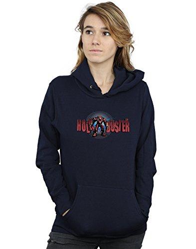 Avengers Femme Infinity War Hulkbuster 2.0 Sweat À Capuche Bleu Marin