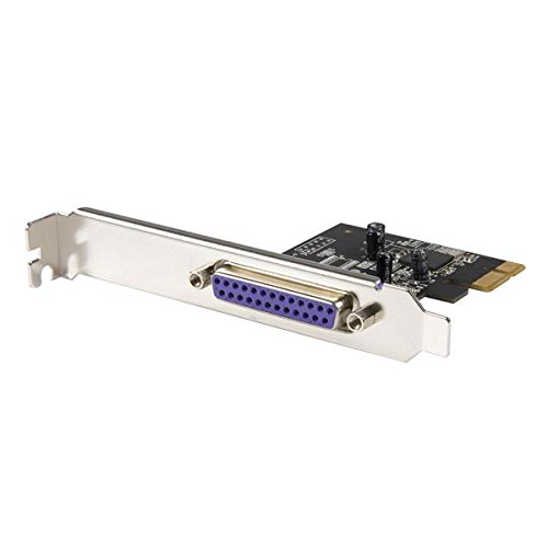 StarTech 1 Port PCI Express Dual Profile Parallel Adapter Card -  SPP/EPP/ECP Test