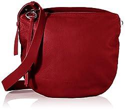 Liebeskind Berlin Damen Dive Bag 2-Crossbody Medium Umhängetasche, Rot (Dahlia Red), 3x33x33 cm