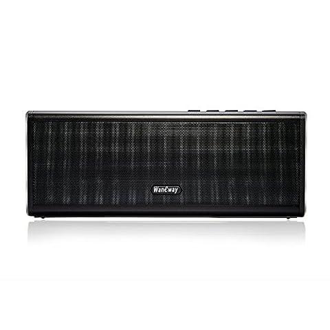 WanEway Tragbar Stereo Bluetooth 4.0 Lautsprecher Speaker, 20W Audio Output