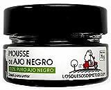 Mousse de ajo negro ecológico español (75g), ideal para untar, antioxidante natural de Losquesosdemitio (Las Pedroñeras)