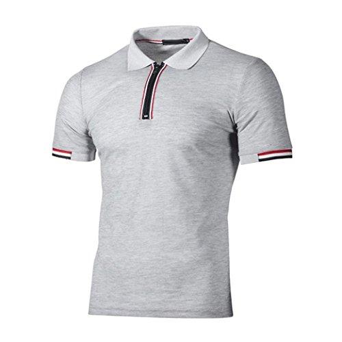 9385fe2dd6 Polo Sport T-Shirt Uni Homme S à 2XL,Covermason Homme Polo Shirts Manche