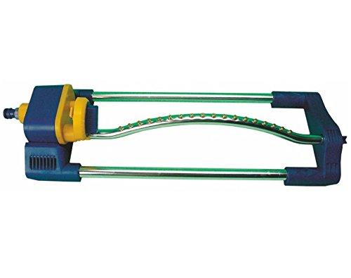 Oszillierende Sprinkler | 15 Löcher | Aluminiumrohr | Für eine Fläche von 250m2 | Kunststoff-Sockel extraresistente -