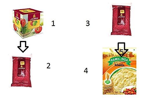 1kg AL Fakher Shisha Aromen Hookah-nicht Tobacco Two Apple Flavour Hookah Water Pipe by themeshoppe