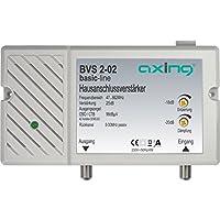 Axing BVS 2-02 Amplificatore per allacciamento domestico (25 dB, 47-862 MHz, 98 dBμV) per antenna digitale terrestre tv - Trova i prezzi più bassi su tvhomecinemaprezzi.eu