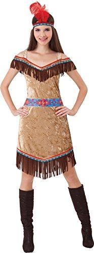 Erwachsene Ausgefallen Party Indianer Wilder Westen Pocahontas Style - Wild Style Kostüm