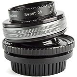 Lensbaby Montre de 3u7C composer Pro II avec aspect Sweet 35pour Canon EF connecteur noir
