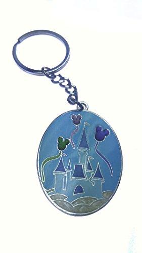 Disney Magic Kingdom Cinderella 's Castle Feiern Metall Schlüsselanhänger -