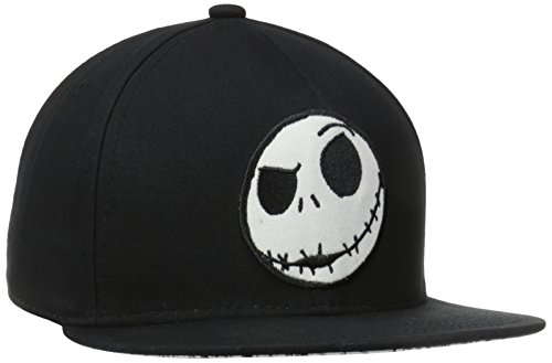 The Nightmare Before Christmas Jack Embroidered Logo Snapback Baseball Cap