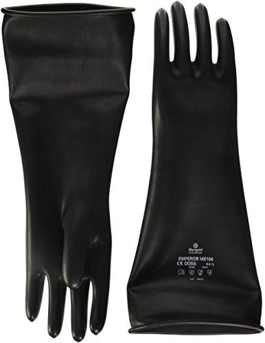 Souci ME104–9.5 Poids moyen gants à crispin, Taille XL, noir