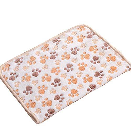 GOOTRADES 40 * 60cm Warmer Haustier Matten Katzen Hund Puppy Fleece Weiche Decke Bett Kissen -