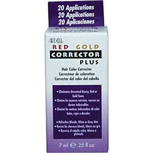 ARDELL Red Gold Corrector Plus Hair Color Corrector 0.25oz/7ml (20 Applications)