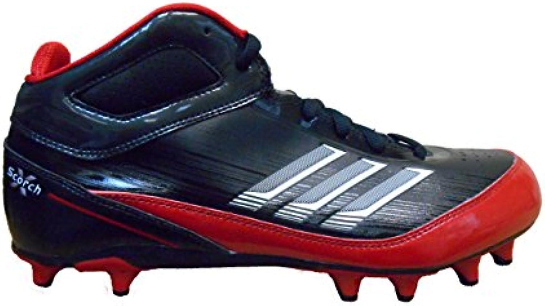Adidas Come SMU Scorch X Fly Media NC Calcio Calcio Calcio Bitte (10.5, Nero Bianco-Rosso) | Vendita  236db9