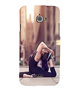 EPICCASE Fit and Fine Mobile Back Case Cover For InFocus M350 (Designer Case)