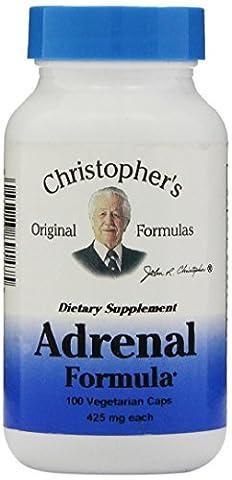 Adrenal Formula, 400 mg, 100 Veggie Caps