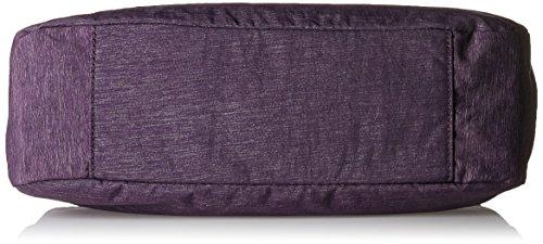 Kipling Damen Caralisa Henkeltasche, 34x25x11 cm Violett (Spark Aubergine)