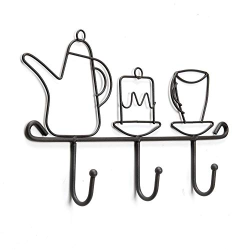 (Generic AST Iron 3 t Haken R Rack Gussurant Home Restaurant nt COF Wandhaken Dekoration Kaffee Shop Dekoration Mantel)