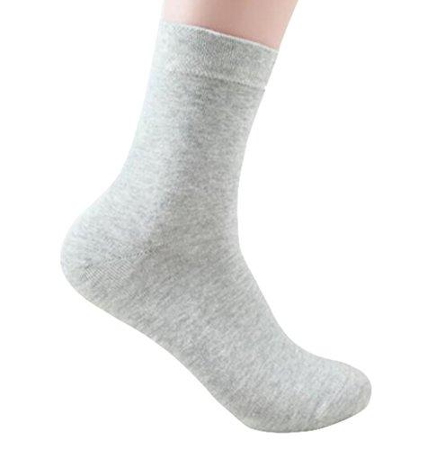 Cosanter 3 Paar Herren Business Socken Baumwoll Socken Anzug-Socken Comfort Sneaker Socken Antibakterielles Deodorant Socken (Antibakterielle Deodorant)
