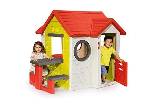 Preisvergleich Produktbild Smoby Mein Haus mit Picknicktisch Spielhaus 154x135x120 cm Gartenhaus my House
